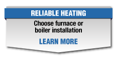 Choose furnace or boiler installation