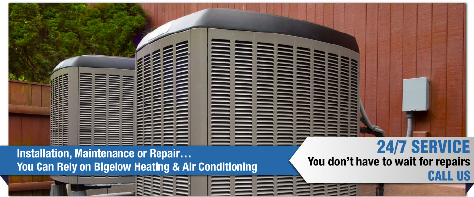 Installation, Maintenance or Repair…You Can Rely on Bigelow Heating & Air Conditioning - air conditioners