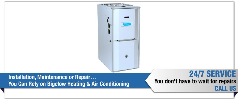 Installation, Maintenance or Repair…You Can Rely on Bigelow Heating & Air Conditioning - heating