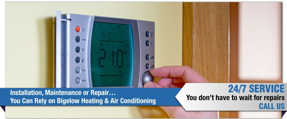 Installation, Maintenance or Repair…You Can Rely on Bigelow Heating & Air Conditioning - regulator