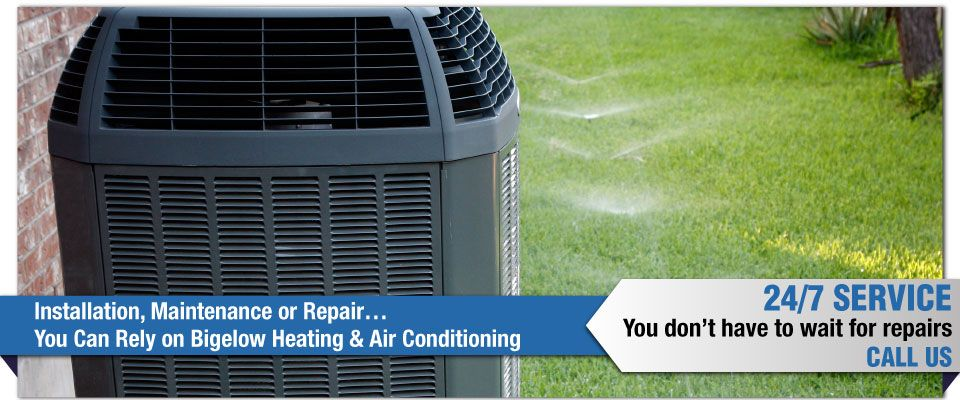Installation, Maintenance or Repair…You Can Rely on Bigelow Heating & Air Conditioning - AC unit
