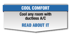 Cool any room with ductless A/C