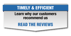 Learn why our customers recommend us